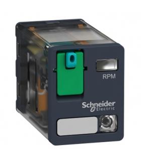Zelio Relay Przekaźnik wtykowy 15A, 2C/O, LED, 24VAC, RPM22BD Schneider Electric