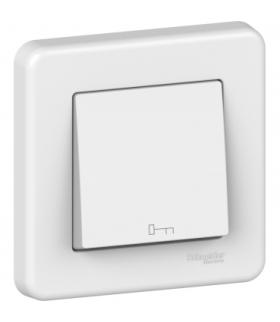 Leona Przycisk 1-biegunowy z symbolem klucza, biały Schneider LNA0900321