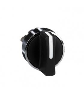 Harmony XB4 Główka przełącznika krótkiego 2 pozycyjnego czarny metalowy, ZB4BD2 Schneider Electric