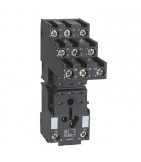 Zelio Relay Gniazdo RXZ do przekaźnika RXM3, 3C/O 12A, 250V, RXZE2S111M Schneider Electric