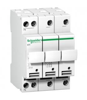 Podstawa bezpiecznikowa Acti9 STI-10,3x38-3N 3+N-biegunowa, A9N15658 Schneider Electric