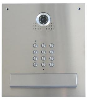 S561D-SK – Skrzynka na listy z wideodomofonem 1 ABONENTOWA Z SZYFRATOREM