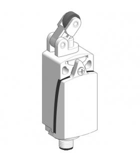 OsiSense XC Łącznik krańcowy z dźwignią rolkową 1NC+1NO dławik ISO M12x1.5, XCKD2121M12 Schneider Electric