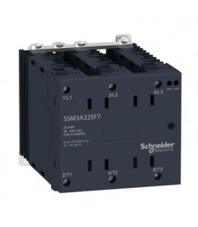 Harmony Relay Przekaźnik półprzewodnikowy, montaż na szynie DIN, wejście 4/32VDC, wyjście 48/600VAC, 25A, rdm, SSM3A325BDR Schne