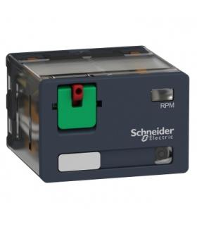 Zelio Relay Przekaźnik mocy z legendą, drzwiczkami i LED 15A, 4C/O, 120V DC, RPM42F7 Schneider Electric