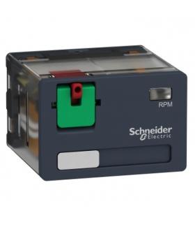 Zelio Relay Przekaźnik mocy z legendą i drzwiczkami 15A, 4C/O, 120V AC, RPM41F7 Schneider Electric