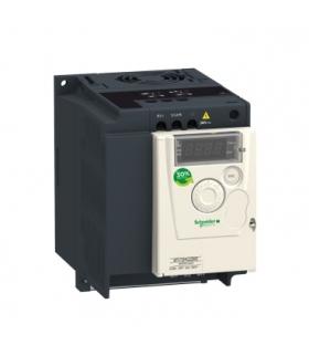 Przemiennik częstotliwości ATV12 1 fazowe 100/120VAC 50/60Hz 0.75kW 4.2A IP20, ATV12H075F1 Schneider Electric