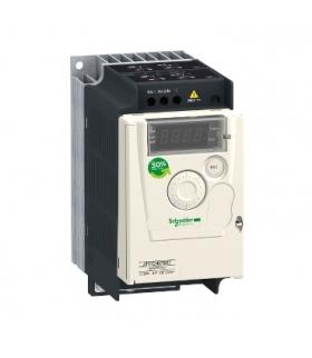 Przemiennik częstotliwości ATV12 1 fazowe 200/240VAC 50/60Hz 0.75kW 4.2A IP20, ATV12H075M2 Schneider Electric