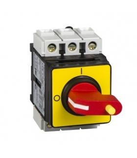 Tył obudowy awaryjnego wyłącznika TeSys VARIO 32A, VVE1 Schneider Electric
