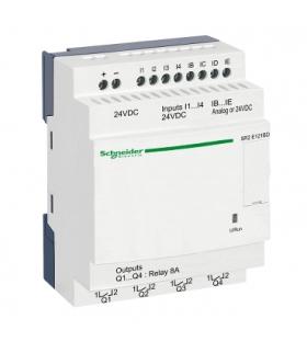 Przekaźnik kompaktowy Zelio Logic 24VDC, SR2E121BD Schneider Electric