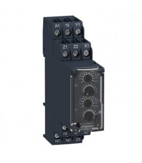 Zelio Time Przekaźnik czasowy z opóźnieniem 24 240V AC/DC, 0.05s/ 300h, styk 1C/O 8A, RE22R1AKMR Schneider Electric