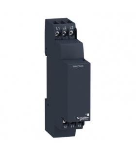 Zelio Control Przekaźnik kontroli fazy 183 528V AC, styk 1 C/O 5A, RM17TG00 Schneider Electric