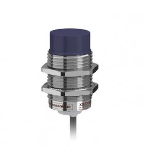 OsiSense XS Czujnik indukcyjny XS2 M30 L57mm mosiężny Sn15mm 12..24VDC kabel 2m, XS230BLNAL2 Schneider Electric