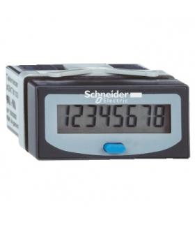 Zelio Count Licznik czasowy z 8 cyfrowym wyświetlaczem LCD, z wbudowaną baterią, XBKH81000033E Schneider Electric