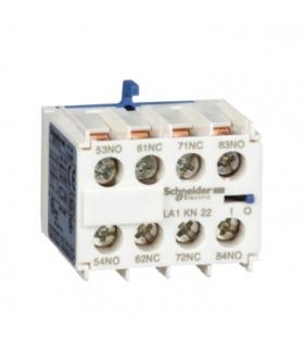 Blok styków pomocniczych bezzwłocznych TeSys K 2NO 2NC zaciski skrzynkowe, LA1KN22 Schneider Electric