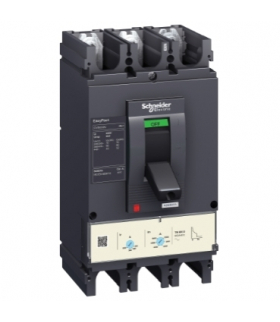 EasyPact, wyłącznik z wywalaczem elektronicznym CVS400N ETS2.3 400A 3P, LV540510 Schneider Electric