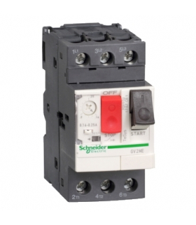 Wyłącznik silnikowy GV2ME20AP z napędem przyciskowym I13-18A PL zaciski skrzynkowe Schneider Electric