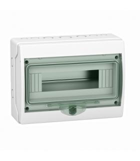 Obudowa natynkowa Kaedra IP65 mKDR-1-12-NT-T drzwi transparentne 1 rząd 12 modułów/rząd, 13960 Schneider Electric