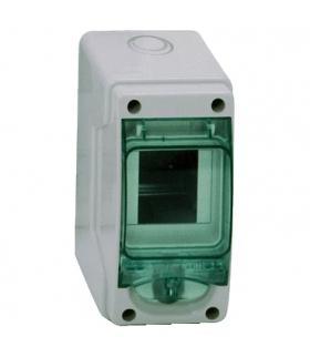 Obudowa natynkowa Kaedra IP65 mKDR-1-3-NT-T drzwi transparentne 1 rząd 3 moduły/rząd, 13956 Schneider Electric
