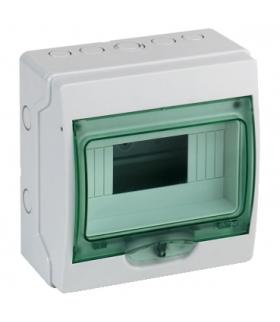 Obudowa natynkowa Kaedra IP65 mKDR-1-8-NT-T drzwi transparentne 1 rząd 8 modułów/rząd, 13959 Schneider Electric