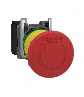 Harmony XB4 STOP awaryjny, Ø40, czerwony, obrotowy, metalowy, XB4BS8442 Schneider Electric