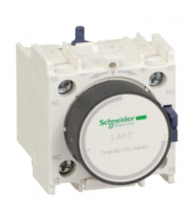 Blok styków pomocniczych opóźniających 0,1-30s TeSys 1NO 1NC zaciski skrzynkowe, LADR2 Schneider Electric