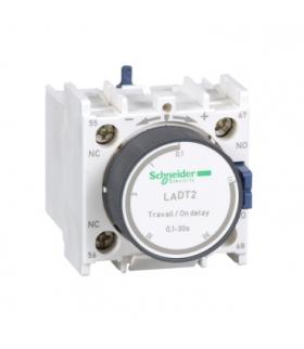 Blok styków pomocniczych wyprzedzających 0,1-30s TeSys 1NO1NC zaciski skrzynkowe, LADT2 Schneider Electric