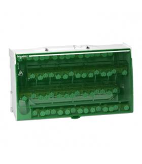 Blok rozdzielczy Acti9 śrubowy 60 otworów 1250A 4P, LGY412560 Schneider Electric