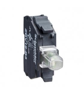 Harmony XB4 Zestaw świetlny Ø22 zielony LED 230/240V, ZBVM3 Schneider Electric