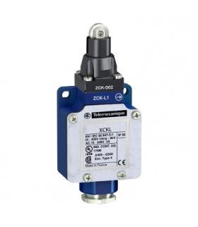 OsiSense XC łącznik krańcowy XCKL, trzpień z rolką stalową, 1NC+1NO, migowe, dławik kablowy, XCKL102 Schneider Electric
