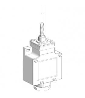 """OsiSense XC Łącznik krańcowy XCKL, """"koci wąs"""", 1NC+1NO, migowe, dławik kablowy, XCKL106 Schneider Electric"""