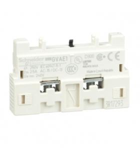 Blok styków bezzwłocznych montaż przedni 1NC lub 1NO, GVAE1 Schneider Electric