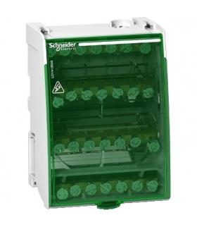 Blok rozdzielczy Acti9 śrubowy 28 otworów 100A 4P, LGY410028 Schneider Electric