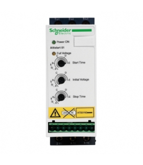 Układ łagodnego rozruchu ATS01 3 fazowe 380/415VAC 50/60Hz 4kW 9A IP20, ATS01N209QN Schneider Electric