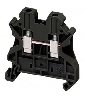 Złączki NSY, zacisk śrubowy przepustowy 4 mm2 PEN, NSYTRV42BK Schneider Electric