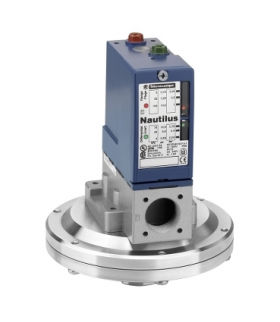 OsiSense XM Elektromechaniczny czujnik ciśnieniowy XMLB 1 bar regulacja między dwoma progami 1 C/O, XMLB001R2S12 Schneider Elect