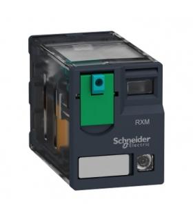 Zelio Relay Przekaźnik miniaturowy LED 2C/O 12A, 24V DC, RXM2AB2BD Schneider Electric