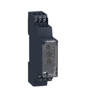 Zelio Control Przekaźnik kontrolny wielofunkcyjny 183 528V AC, styk 1 C/O 5A, RM17TU00 Schneider Electric