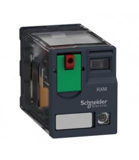 Zelio Relay Przekaźnik miniaturowy LED 2C/O 12A, 230V AC, RXM2AB2P7 Schneider Electric