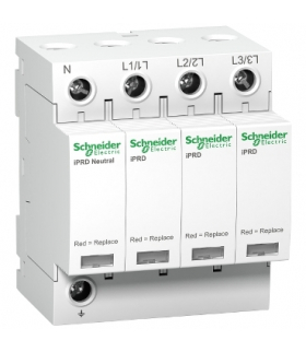Ogranicznik przepięć Acti9 iPRD20-T2-3N 3+1-biegunowy Typ2 20 kA, A9L20600 Schneider Electric