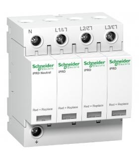 Ogranicznik przepięć Acti9 iPRD20r-T2-3N 3+1-biegunowy Typ2 20 kA ze stykiem, A9L20601 Schneider Electric