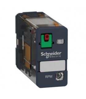 Zelio Relay Przekaźnik mocy wtykowy LED, 15A, 1C/O, 24VAC, RPM12B7 Schneider Electric