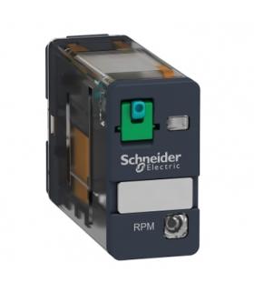 Zelio Relay Przekaźnik mocy wtykowy 15A, 1C/O, LED, 24VDC, RPM12BD Schneider Electric