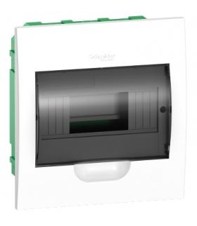 Obudowa podtynkowa Easy9 IP40 EZ9E-1-8-PT-T drzwi transparentne 1 rząd 8 modułów/rząd, EZ9E108S2F Schneider Electric