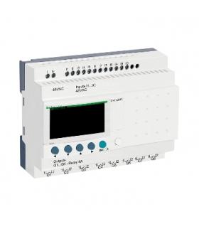 Przekaźnik programowalny Zelio Logic 12 wejść 8 wyjść 48VAC, SR2A201E Schneider Electric