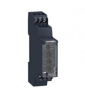 Zelio Control Przekaźnik kontroli napięcia międzyfazowego, 183 528V, styk 1 C/O 5A, RM17UB310 Schneider Electric
