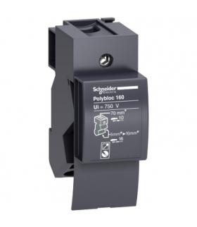 Rozdzielnice Prisma, blok rozdzielczy Polybloc 160A 1P, 04031 Schneider Electric