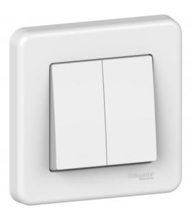 Leona Łącznik podwójny schodowy, biały Schneider LNA0600321