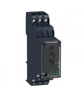Zelio Control Przekaźnik kontroli 3 fazowy, 380/480V AC, styk 2C/O, RM22TA33 Schneider Electric