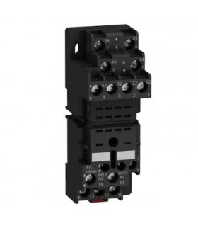 Zelio Relay Gniazdo RXZ do przekaźnika RXM2,RXM4, 250V, styki mieszane 2C/O 4C/O 10A, RXZE2M114 Schneider Electric